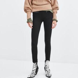Zara side zip leggings